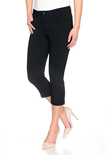 STOOKER Women Capri Slim Fit 21 Black 36