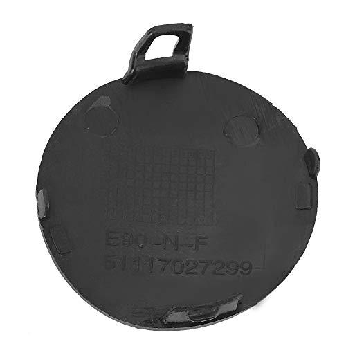 Akozon Durable Frontstoßstange Abschlepphaken Abdeckung Fit für E90 E91 316i 318i 320i 51117207299