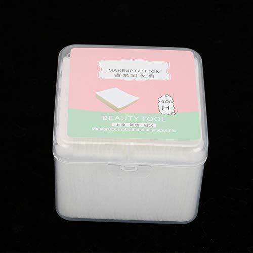 Almohadillas removedoras de algodón, almohadillas de algodón, algodón puro facial sin aditivos para el cuidado de la piel.