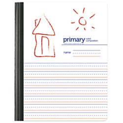 Office(R) Depot Brand Composition Book, 9 3/4in. x 7 1/2in, Unruled/Primary Ruled, 80 Sheets