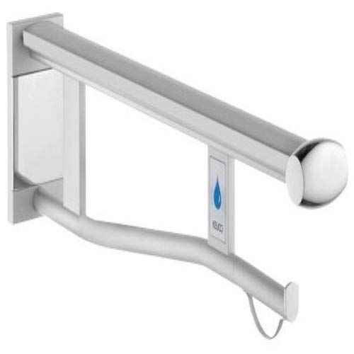 Keuco 34905171838 Plan Care Wandstützgriff WC Aluminium, silber-eloxiert / lichtgrau