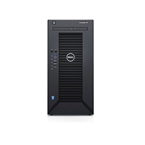 2017 Newest Flagship Dell PowerEdge T30 Business Mini Tower Server System - Intel Quad-Core Xeon E3-1225 v5 8M Cache, 16GB UDIMM RAM, 1TB HDD, DVD+/-RW, HDMI, No Operating System - Black