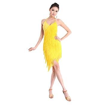 yellow ballroom dress