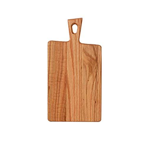 TXOZ-Q Tablero de sirviente de pan de madera de roble con tablero de senderos de queso de madera Tablero de madera Charcuterie Party Charcuterie Tablero para alimentos cocidos, verduras, frutas, queso