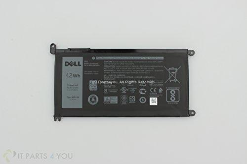 WDX0R New Genuine Dell Inspiron Latitude Vostro 42WHr 3 Cell Battery: Y3F7Y