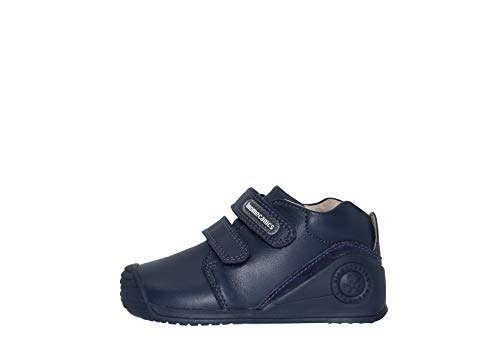Biomecanics 161141, Zapatillas de Estar por casa para Bebés, Azul (Azul Marino /Sauvage), 20 EU