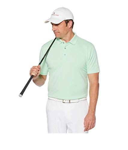 Grand Slam XXL Off Course Classic Fit Solid Golf Polo Green Ash