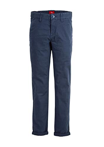 s.Oliver Junior Jungen 402.10.004.18.180.2037143 Hose, Dark Blue, 176.REG