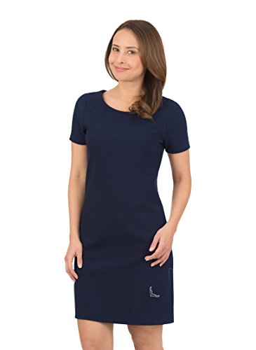 Trigema 576811118 Vestido, Azul (Navy 046), XXL para Mujer