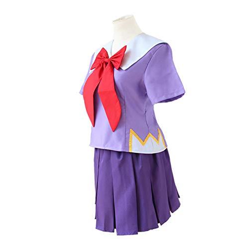 HXMCOS Cosplay Costume Mirai Nikki Gasai Yuno School Uniform Sailor Suit Party Halloween Carnival (Female:Medium)