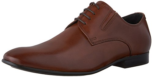 Kenneth Cole New York Men's Mix-Er Oxford, Cognac, 10 M US