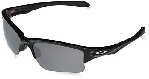 Oakley Half Jacket 2.0 XL OO9154 915401 62M Polished Black/Black Iridium Sunglasses For Men+BUNDLE with Oakley Accessory Leash Kit