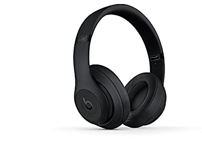 Beats Studio3 Wireless Headphones - Matte Black (Renewed) from Beats