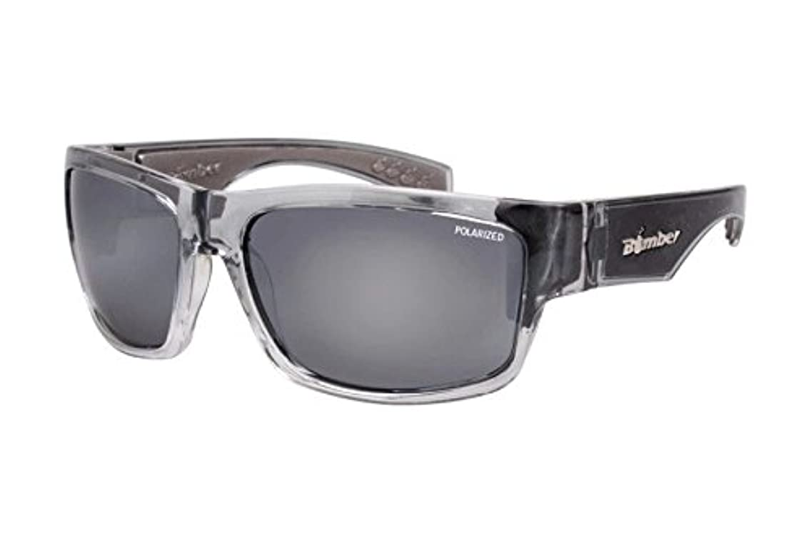Bomber Tiger Floating Eyewear - 2-Tone Crystal/Polarized Silver/Grey Foam