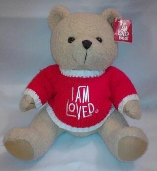 I Am Loved Bear 12 Inch Plush by Helzberg Diamonds