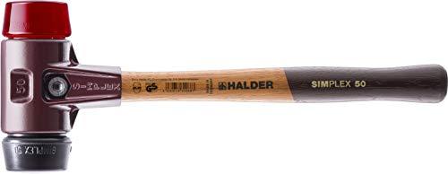 SIMPLEX-Schonhämmer, mit Stahlgussgehäuse und hochwertigen Holzstiel | Ø=60 mm | 3026.060