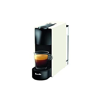 Nespresso Essenza Mini Original Espresso Machine by Breville, Pure White