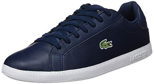 Lacoste Herren Graduate BL 1 SMA Sneaker, Blau (Navy/White), 42 EU
