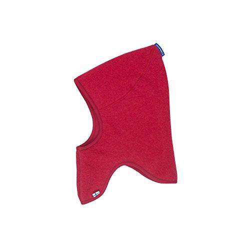Finkid Luola Wool persian red Kinder Wollfleece Schlupfmütze