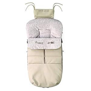 Jané Saco para silla Nest Plus, Interior Polar, Impermeable, Universal, con Cremallera, Color Autumn