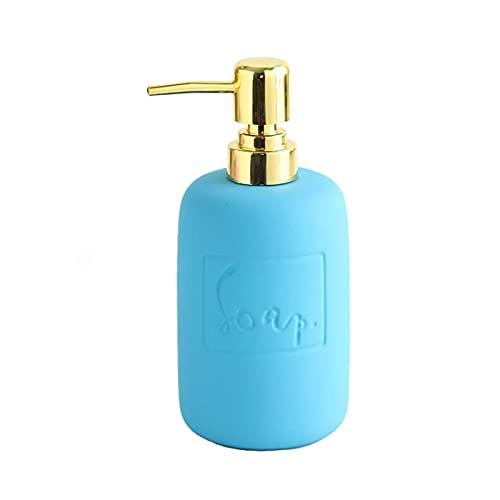 Accesorios de baño Conjunto Dispensador de jabón para la loción de baño Dispensador Dispensador de jabón de alta capacidad Manual dispensador de jabón Adecuado para cocina Baño de baño o accesorios de