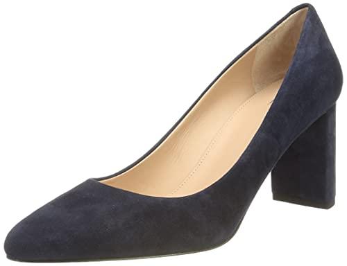 BOSS Iris Pump70-S - Zapatos de tacón para Mujer, Color Azul, Talla 35.5 EU