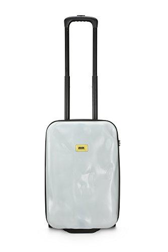 Crash Baggage Pioneer Small Maleta Trolley de Cabina, Color Blanco