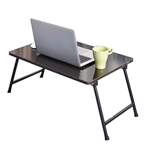 Bureaumeubel LiuJF Bed bureau, opvouwbare multifunctionele kleine tafel, laptoptafel, huishouden, studie leren bureau, restaurant, kleine eettafel, verdikte plaat 60 * 40 * 30cm zwart