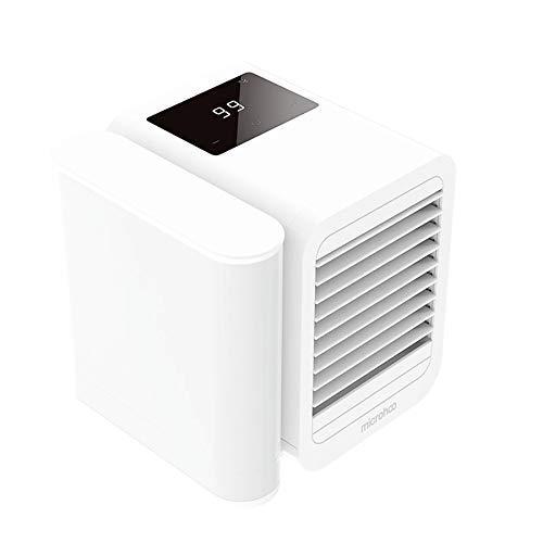 LIPENLI Espacio Personal USB acondicionador de Aire portátil refrigerador de Aire purificador del humectador del Aire del Ventilador del Ventilador de refrigeración