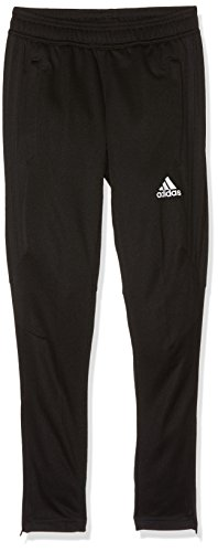 adidas Jungen Tiro17 Trainingshose, Black/White, 164