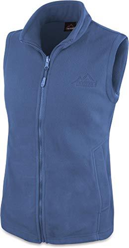 normani 280g Fleeceweste für Damen - Winddicht, leicht, warm, elegant Farbe Navy Größe XXL