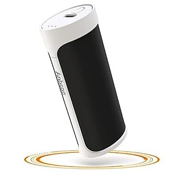 Chauffe Mains Électrique, Anbooc 5000mAh Chauffe Main USB Rechargeable, Mini Chauffe Main Réutilisable/Power Bank, Reharge Rapide Longue Durée, Idéal Cadeau Chaleureux pour Hommes Femmes Enfants