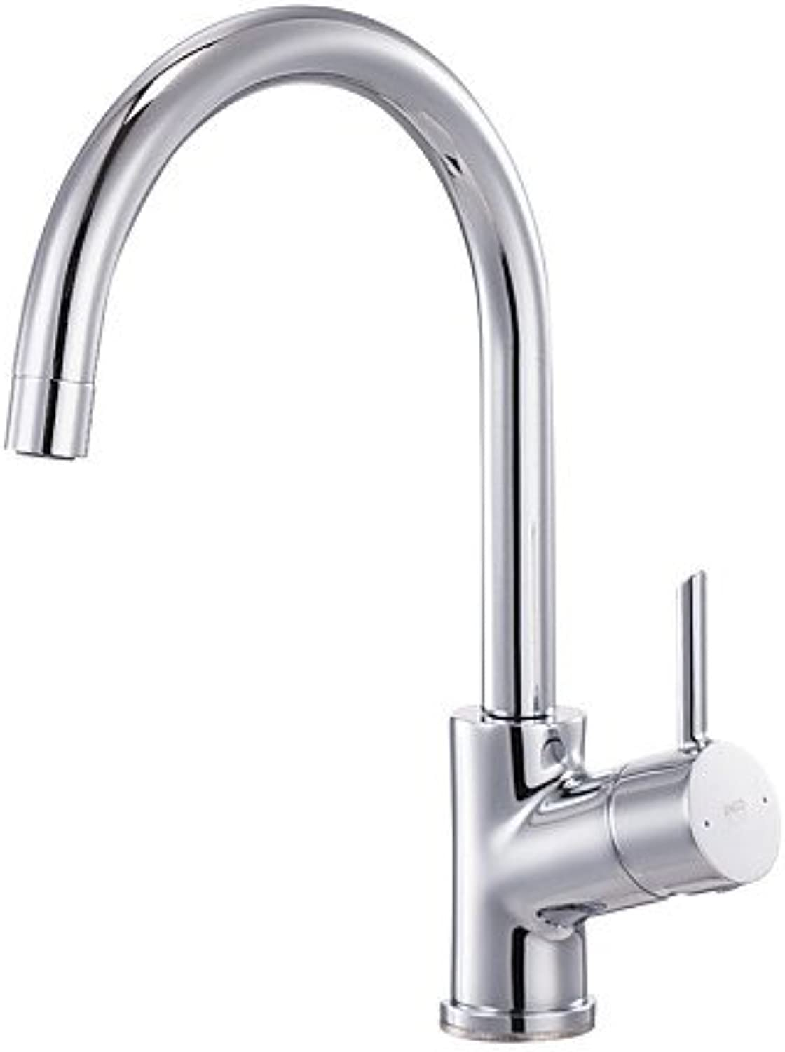 KHSKX ENZgoldDI Kitchen Sink Faucet Tap 360 redatable Lead Free Brass 1-Handle Polished Chrome ERF7129184CP