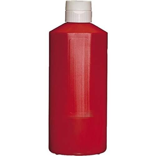 APS 93222 Plastic Squeeze Flasche, Ø 9, 5 x 25, 5 cm, 1, 1 l, Rot