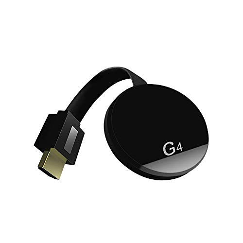 Wowlela Wireless HDMI Display Adapter 4K HDR,WiFi HDMI Dongle inalámbrico Streaming Android/iOS/Window/Mac Laptop, teléfono, Tableta, PC a HDTV/Monitor/proyector