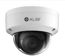 Alibi NS2014VR 4MP IP Dome Camera with 120FT IR and Starlight Low Light Vision