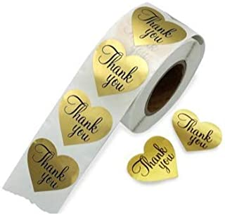 Best thank you heart stickers Reviews