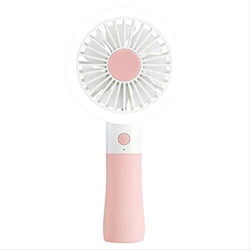 QMHN Hand-Held Piccolo Ventilatore Portatile Ricaricabile Carino Carino Mano Mini Ventola Carry
