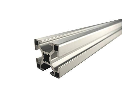 ALU Profil Aluprofil 40x40 Systemprofil Stangenprofil Nut 8 Aluminium Profil Bosch Raster Länge wählbar (1000mm)