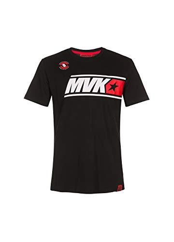 Vr46 Maverick Vinales, T-Shirt Hombre, Negro, Xl