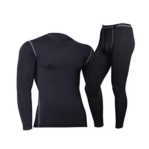 Herren Sportswear Fitness Sport Laufen Jogging Anzug Trainingssportkleidung Tights Running Training Basketball Fitness Kleidung atmungsaktiv, schnell trocknend Kleidung (Color : 2, Size : XXXL)