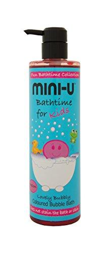 Mini-u Pastèque Lovely Bubbly coloré Bain moussant, 500 ml