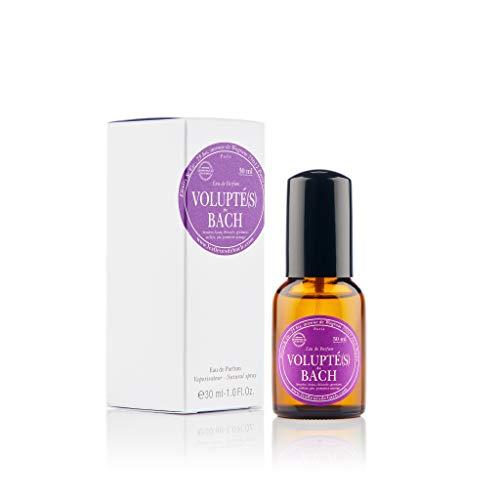 Elixirs & Co - Eau de Parfum aux Fleurs de Bach - Bio - Volupté(s) - Bien-être - Parfum Séduisant et Captivant - Pamplemousse Bergamote et Violette - Made in France - 30ml