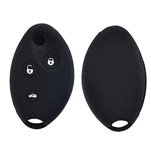 WANGXI Funda de Silicona para Llave de Coche,para Citroen C5 C8 Picasso Xsara Berlingo, 3 Botones