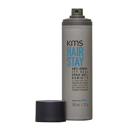 KMS Hair Stay Anti-Humidity Seal Hair Spray For Frizz & Humidity Protection, 150ml