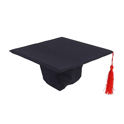 NUOBESTY Gorro de graduación para niños Accesorios de fotografía para bebés niños Preescolar o guardería Ceremonia de graduación