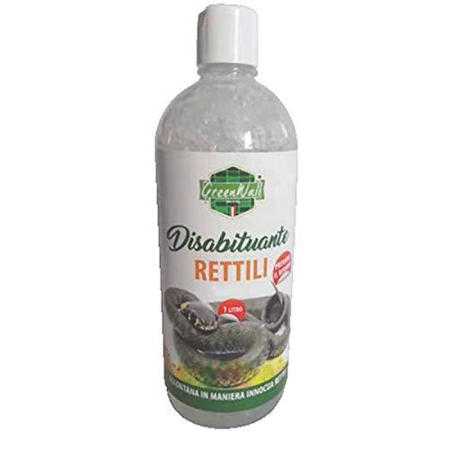 GreenWall DISABITUANTE Repellente ALLONTANA GECHI RETTILI Naturale Gel (Piu  Durata) 1 LT