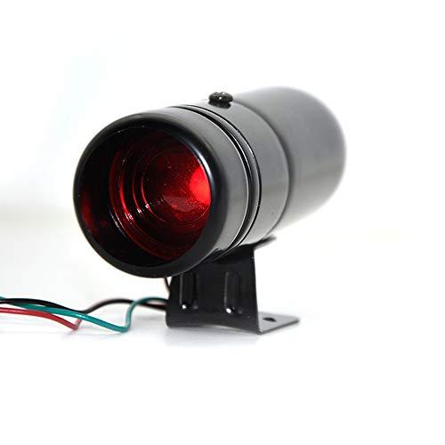 Manyao LED Rojo y Azul Ajustable tacómetro RPM Tacho Pro Shift Light 1000-11000 Universal (Color : Red Light)