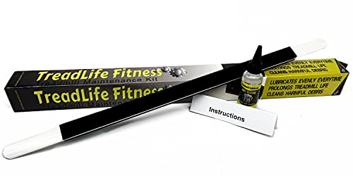TreadLife Fitness Treadmill Maintenance Kit   Extra Wide  TruLube  Applicator Wand and 1 Year Supply of Lubricant