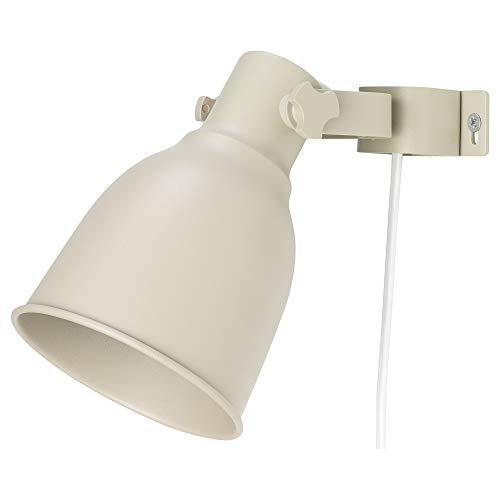 IKEA 404.332.71 Hektar - Lámpara de pared (404.332.71), color beige
